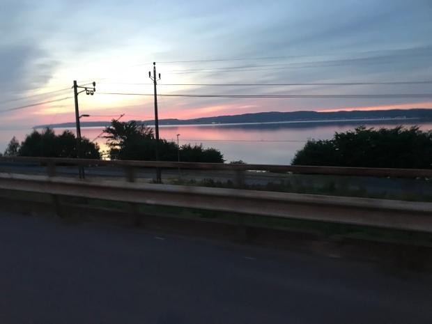 Sunrise over Lake Vattern